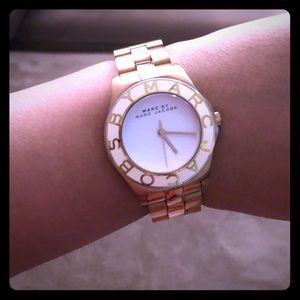 Rose Gold Marc Jacobs Watch as is